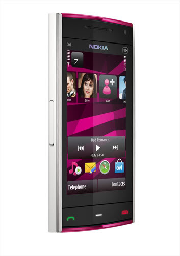 NokiaX6_white_pink_left_lowres