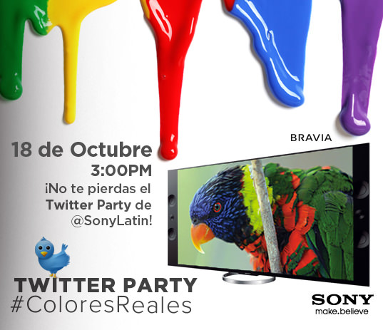 BRAVIA Twitter Party