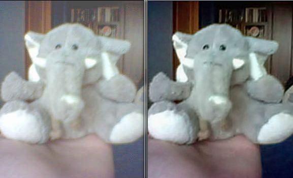 Fotografía con el antes y después