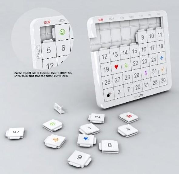 Calendario Rompecabezas
