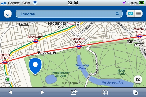 Nokia Ovi Maps para iPhone y Android