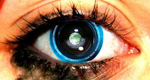 El ojo hecho cámara