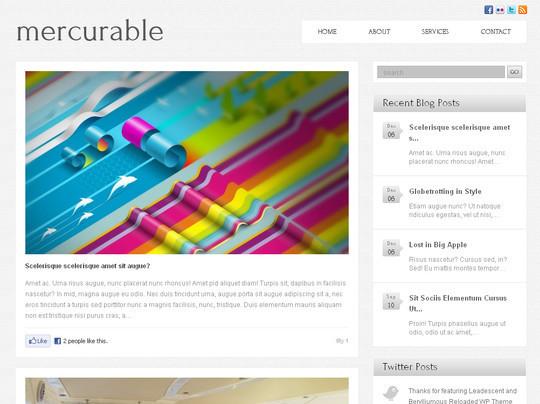 Los Mejores Temas (themes) para WordPress del 2011 | GeekGT
