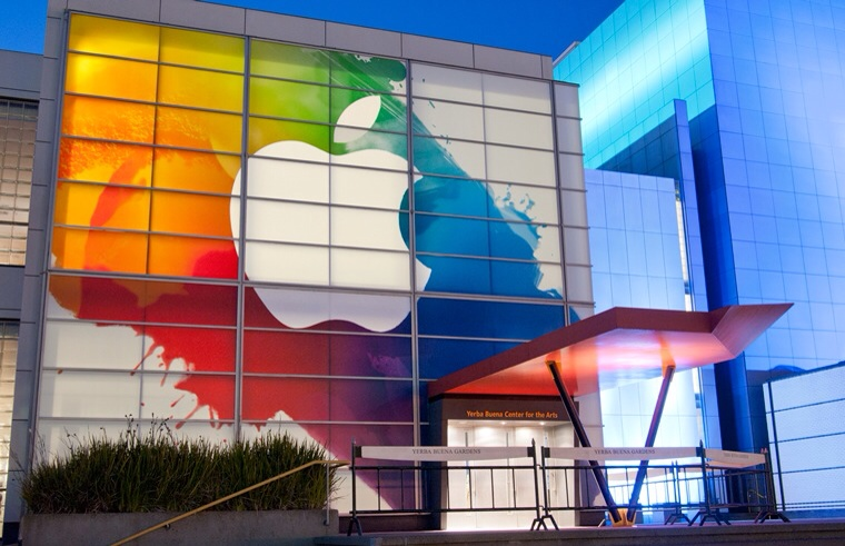 Yerba Buena Center Apple