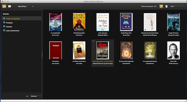 Adobe Digital Editions - Lector de libros electrónicos desde la computadora