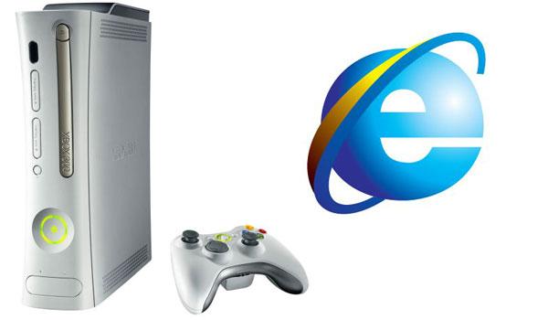 Internet explorer 9 en la Xbox 360