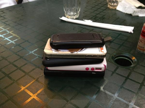 Etiqueta y Protocolo de los celulares
