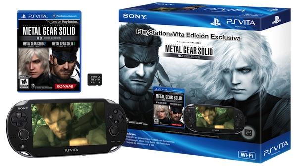 Edición Limitada PS Vita con Metal Gear Solid HD Collection