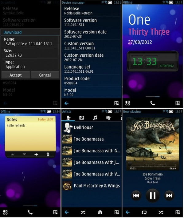 Nokia Belle Refresh