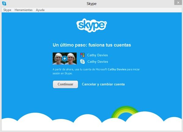 Cuenta Skype