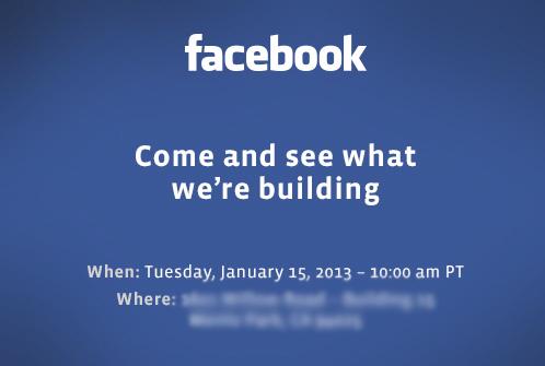 Facebook Invitación 15 enero