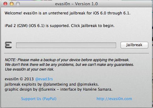 Jailbreak iPad 2