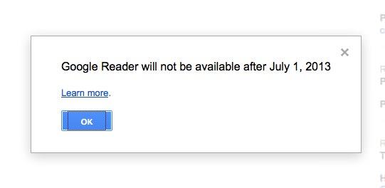 Muerte de Google Reader