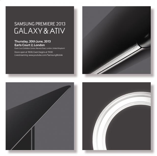 Invitación Samsung Galaxy y Ativ