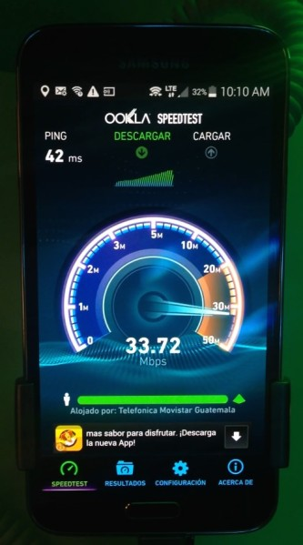 Internet 4G LTE Movistar Guatemala