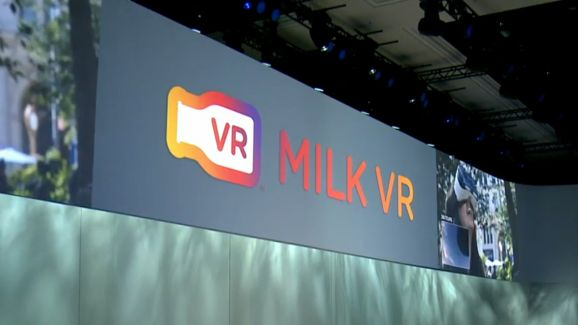 Samsung presenta MILK VR