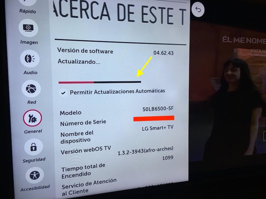 5 Actualización LG WebOS