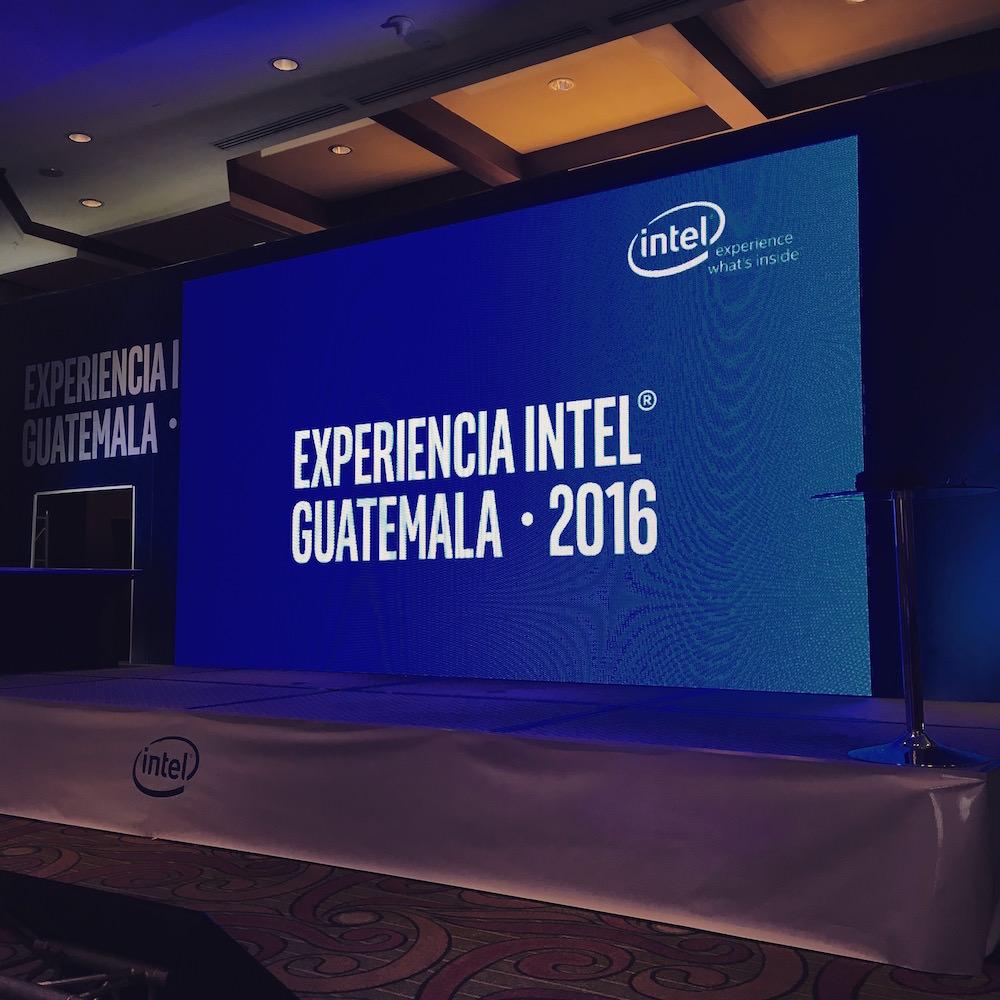 Las innovaciones de Intel llegaron a Guatemala