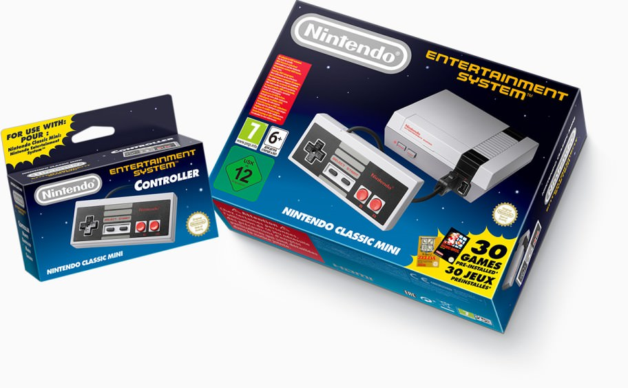 Mini NES - Box