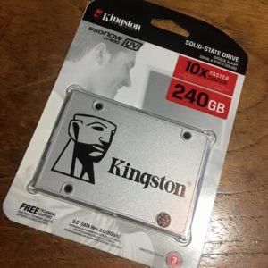 1 - Kingston SSDNow UV400
