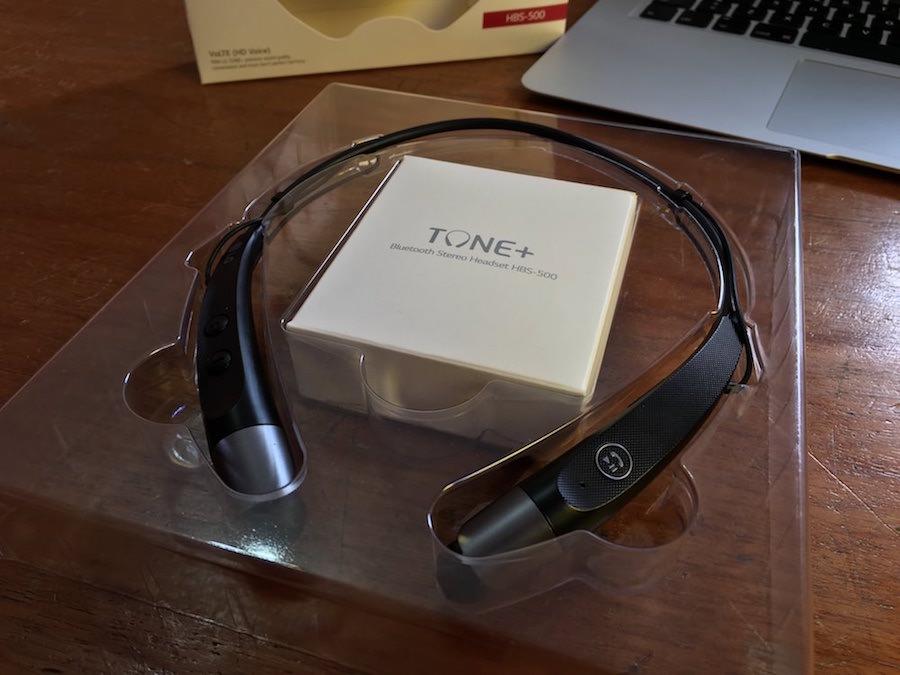LG Tone Bluetooth Stereo HBS-500