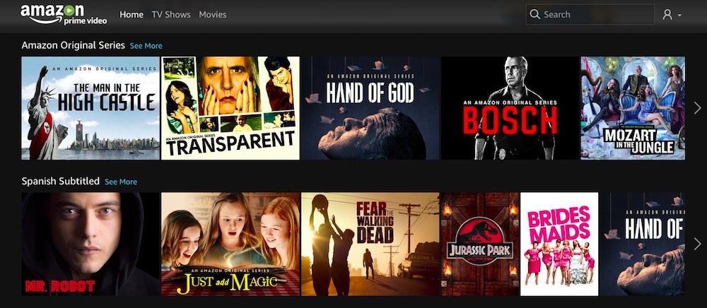 Amazon Prime Video Guatemala