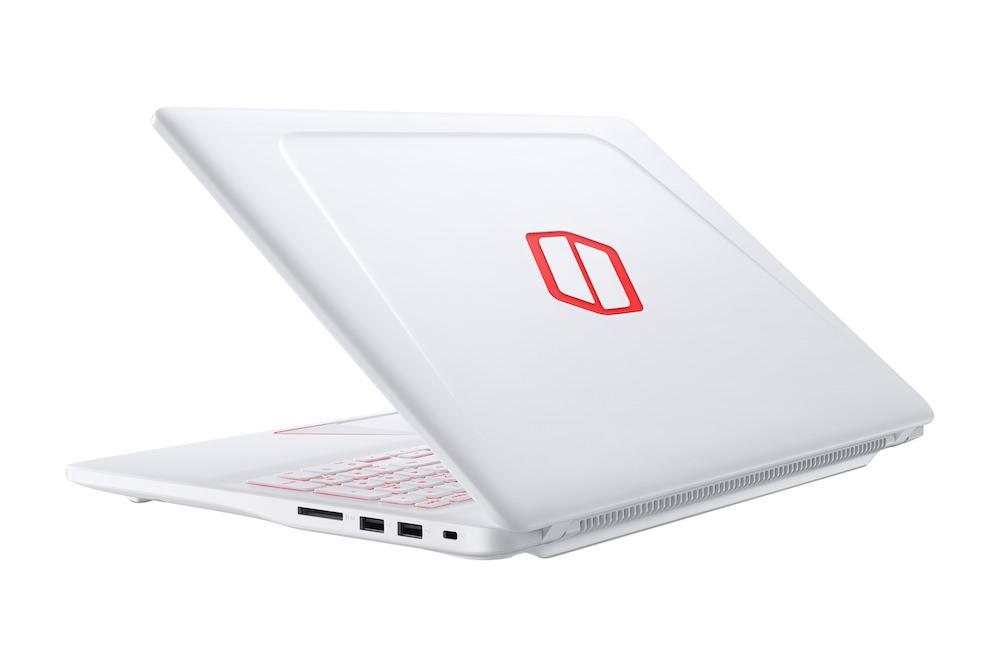 Samsung Notebook Odyssey white