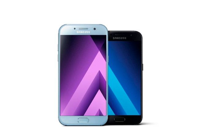 Samsung Galaxy A5 y A3 - Mod 2017