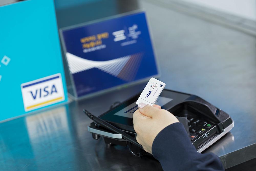 Visa Lotte Card Wearable Sticker
