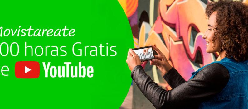 100 horas gratis de Youtube
