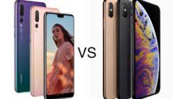 Huawei P20 PRO vs iPhone XS MAX
