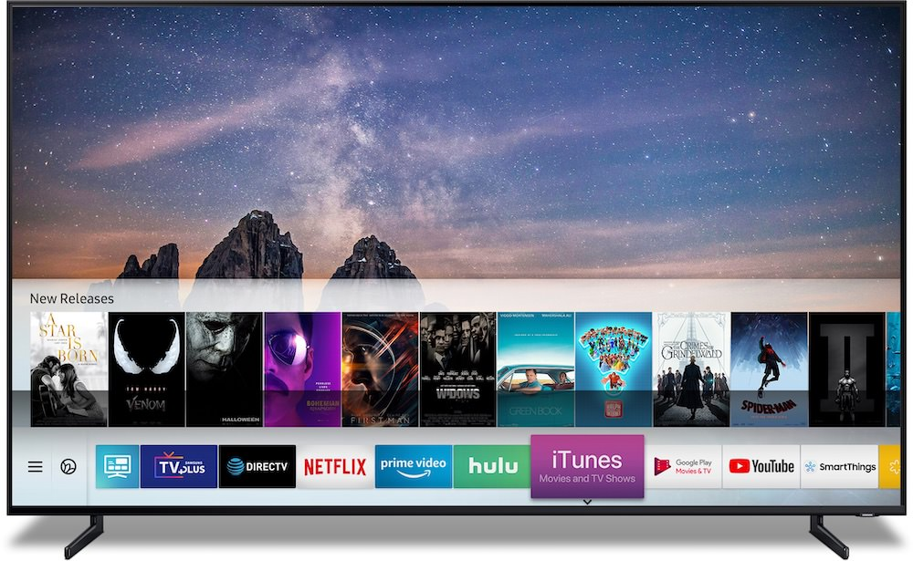 Samsung TV iTunes